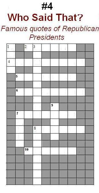 Republican Word Search Games White House 2016