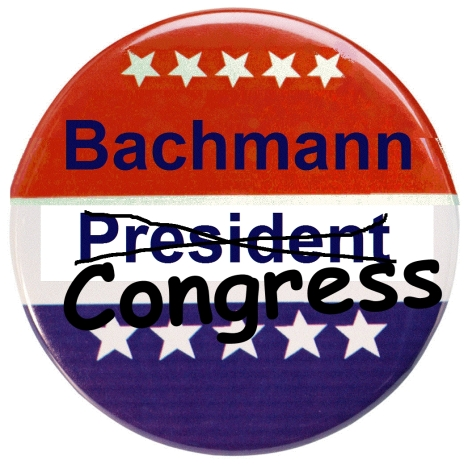 Bachmann's Presidential TEA Party is Over