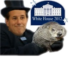 Groundhog Day Came to Iowa Early and Rick Santorum Saw His Shadow
