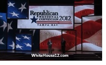 G.O.P. Unviels the Stage for Romney's Nomination at the Republican National Convention