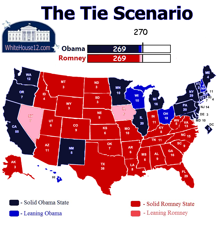 electoral college maps | White House 2016 on